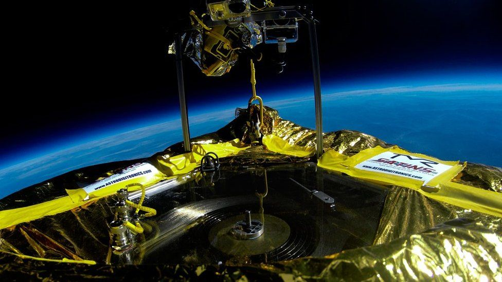 record in space