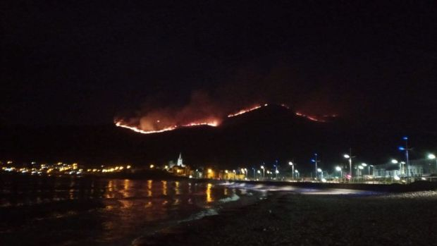 Mournes fire