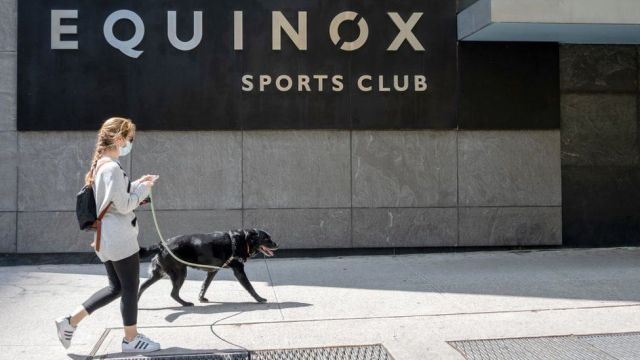 An Equinox fitness club in New York