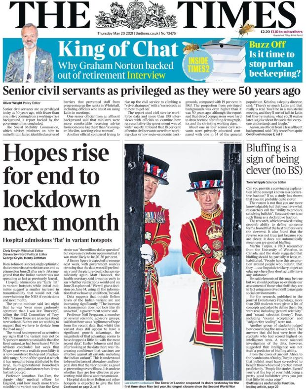 The Times 20 May
