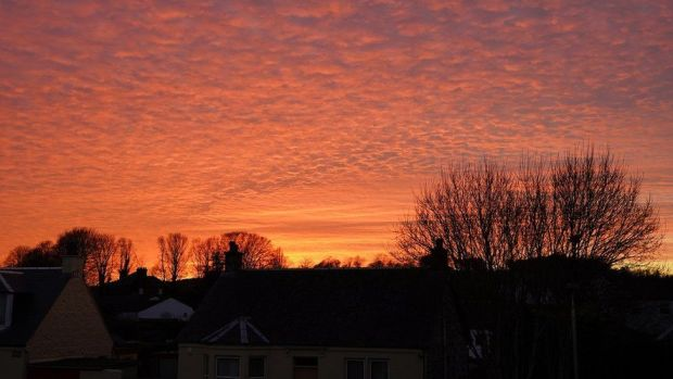 Kilbarchan sunset