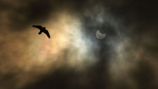 Eclipse from Greenock