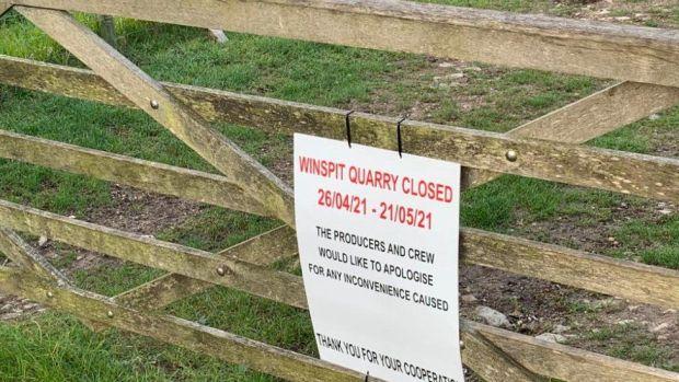 Winspit Quarry near Worth Matravers