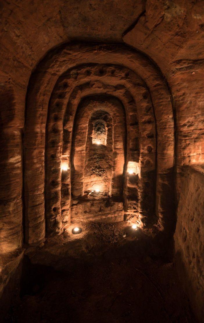 La cueva subterránea