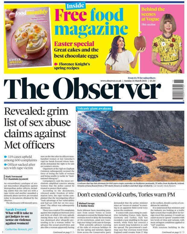 The Observer 21 March