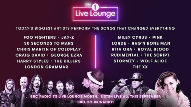 live lounge month