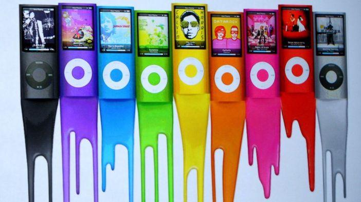 Lots of iPod nanos