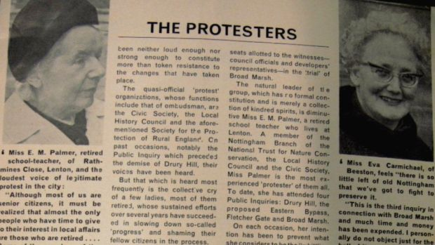 Article about protest