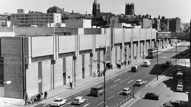 Newly built Broadmarsh Centre
