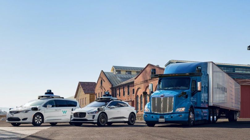 Waymo autonomous vehicles