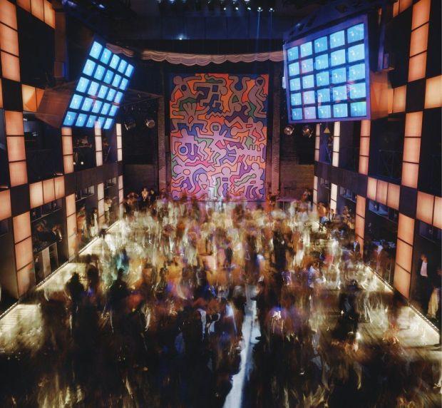 The Palladium in New York in 1985