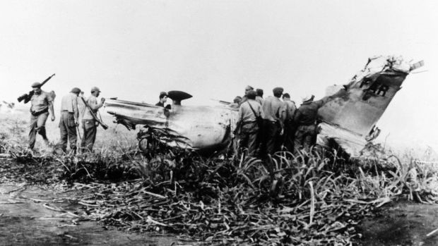 Destroyed aircraft