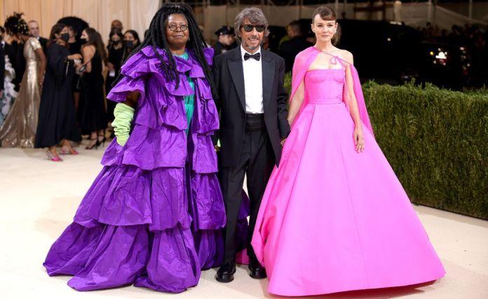 Whoopi Goldberg, creative director for Valentino-Pierpaolo Piccioli and Carey Mulligan