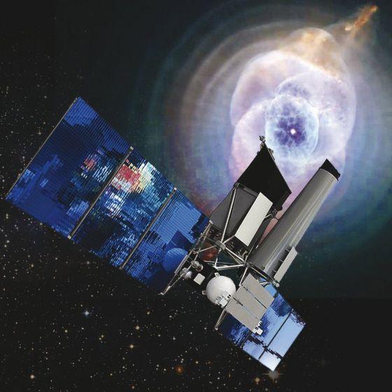 Telescope artwork