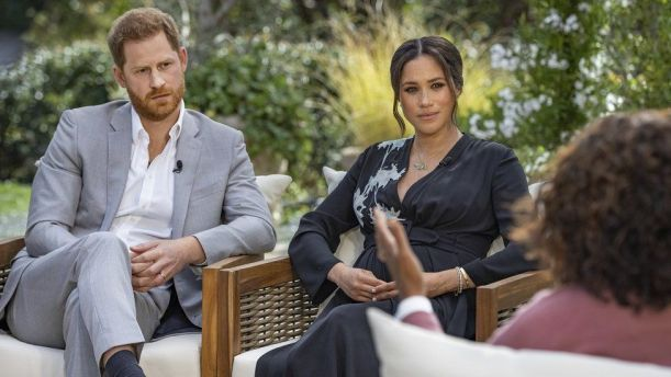Meghan and Harry interview: Racism claims, duke 'let down' by dad, and duchess on Kate - BBC News