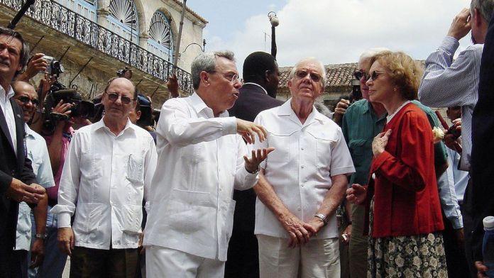In Cuba in 2002