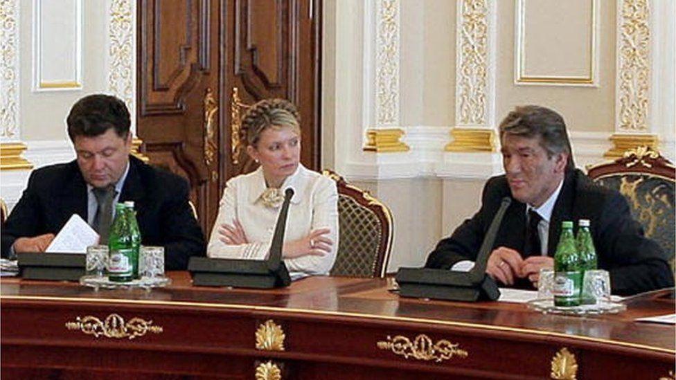 Перше премєрство Юлії Тимошенко тривало з лютого по вересень 2005 року
