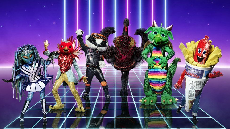 The Masked Singer contestants in character