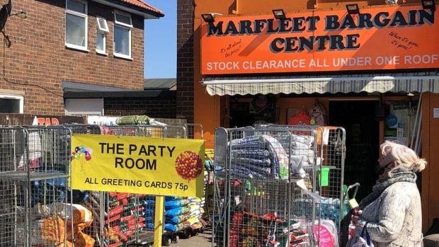 Shop on Marfleet lane in Hull