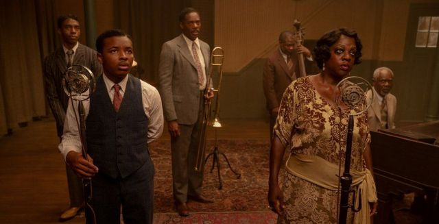 The cast of Ma Rainey's Black Bottom