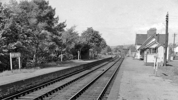Bow Street station in 1962