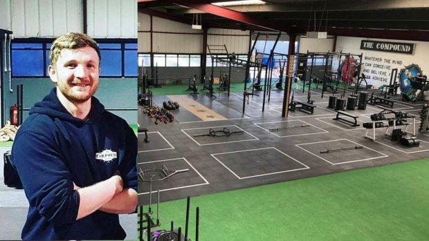 Calvin Nap at The Compound Gym