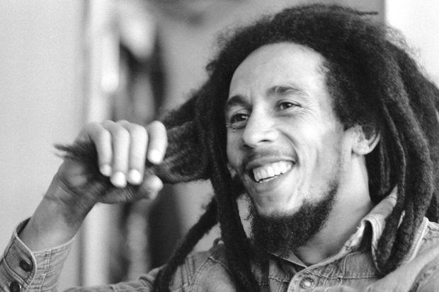 Bob Marley seen in 1978