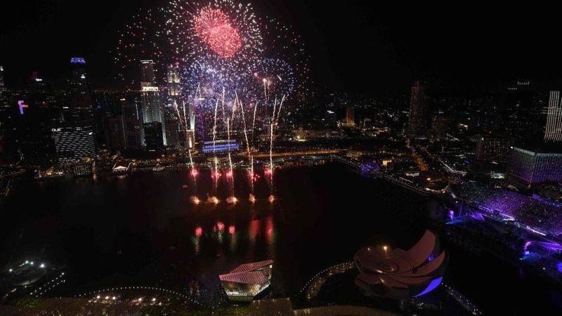 Na Marina Bay, Singapore kulikuwepo uhondo zaidi