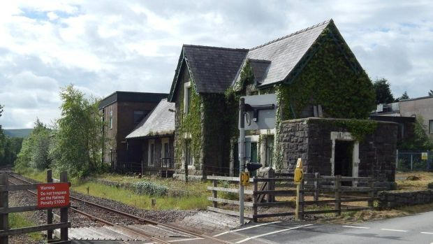 The old Carno Station