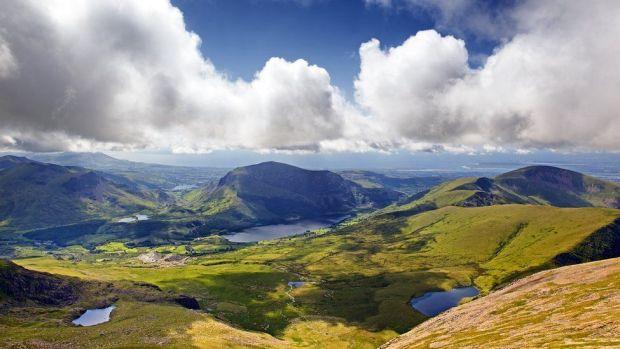 View of Snowdonia