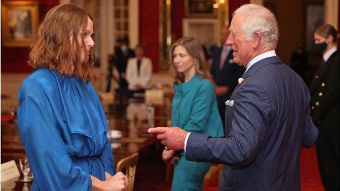 Stella McCartney and Prince Charles
