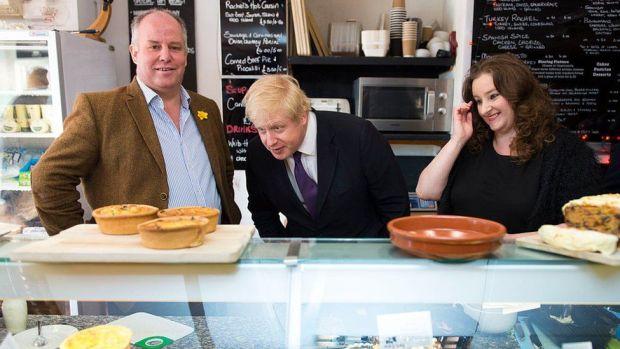 Andrew RT Davies, Boris Johnson, Jayne Cowan