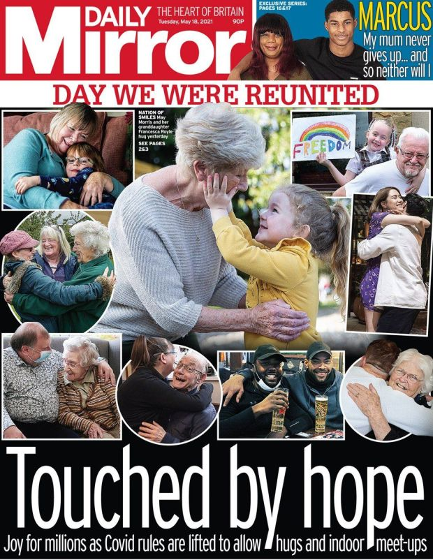 The Daily Mirror 18 May