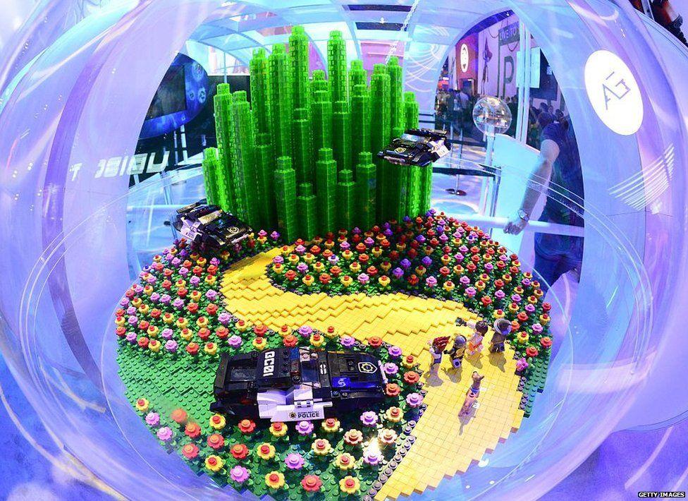 A world of Lego