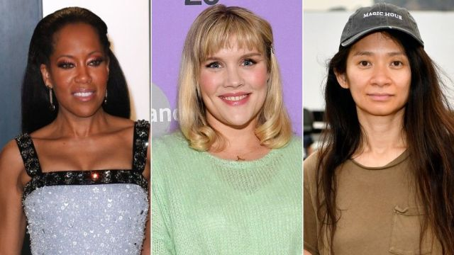 Regina King, Emerald Fennell and Chloe Zhao