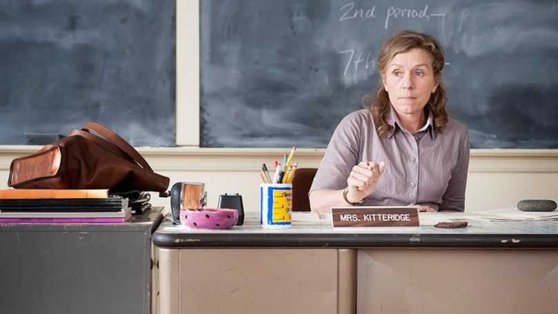 """Frances McDormand here playing a younger Olive Kitteridge in the television series, said """"I was often told that I wasn't a thing"""""""