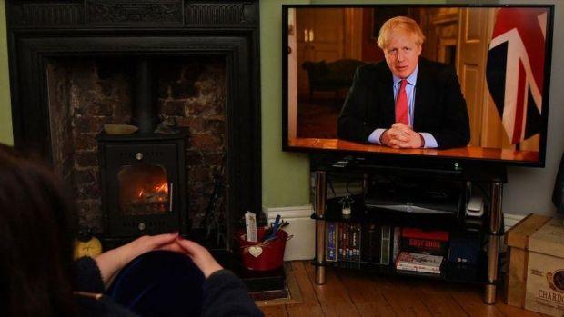Boris Johnson broadcast