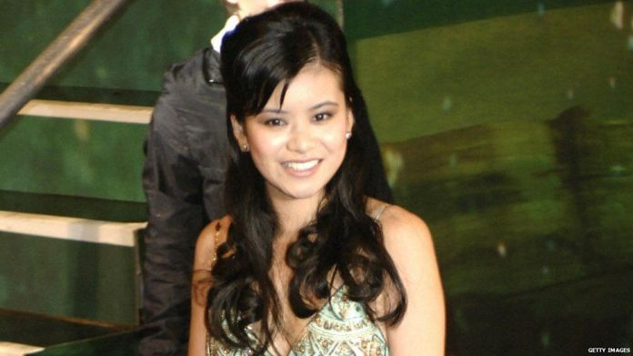 Katie Leung at the Harry Potter and the Goblet of Fire world premiere in 2005