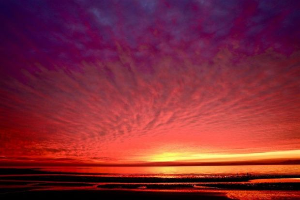 Prestwick sunset