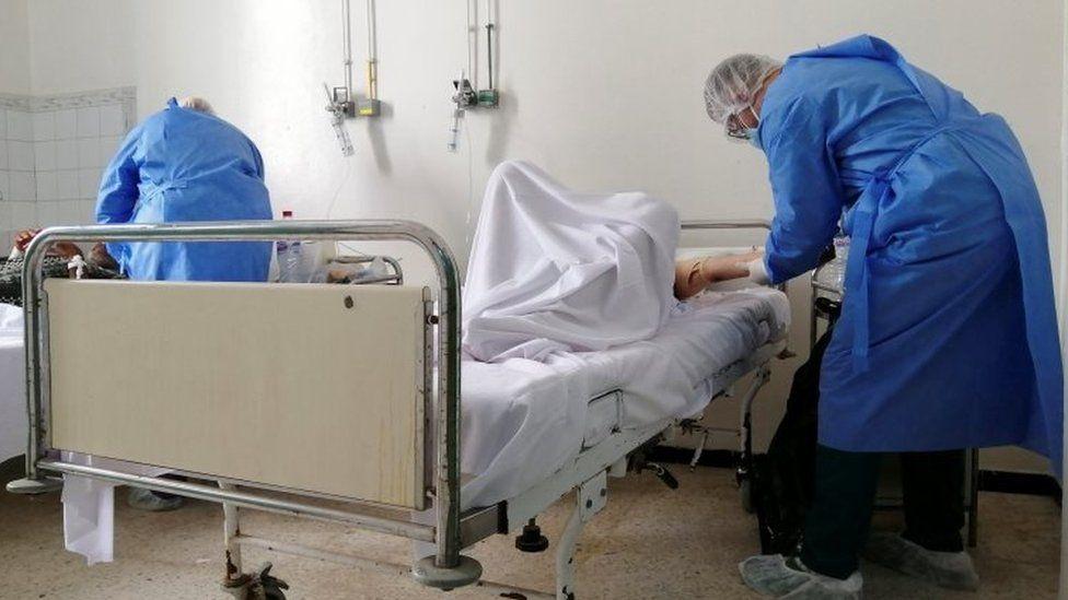 The Charles Nicole Hospital in Tunis, Tunisia