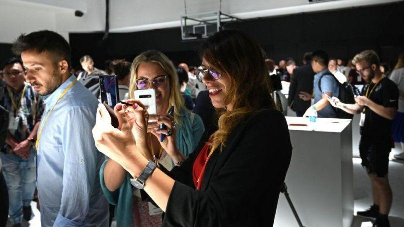 Samsung Galaxy phone launch