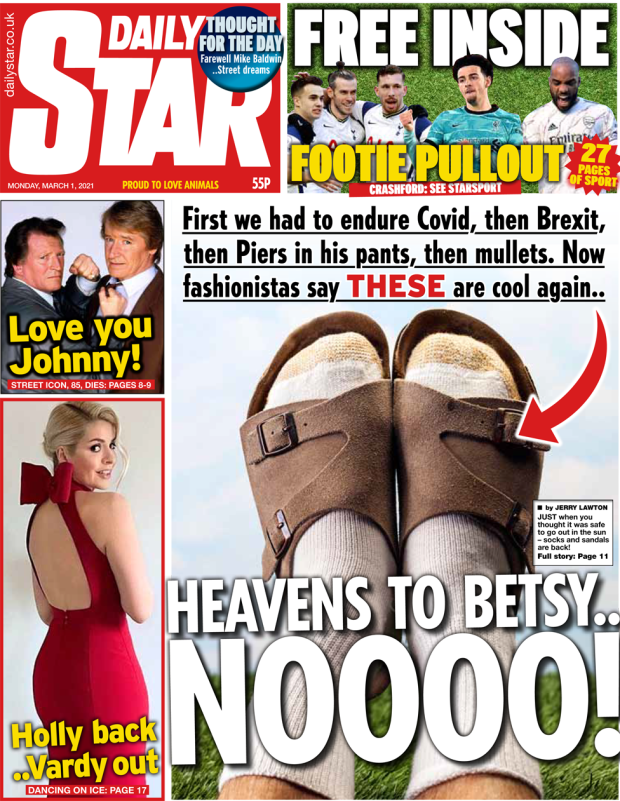 The Daily Star front page 1 March 2021