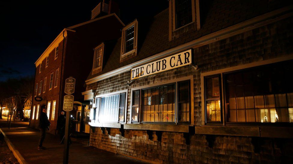 The alleged incident occurred at The Club Car restaurant in Nantucket.