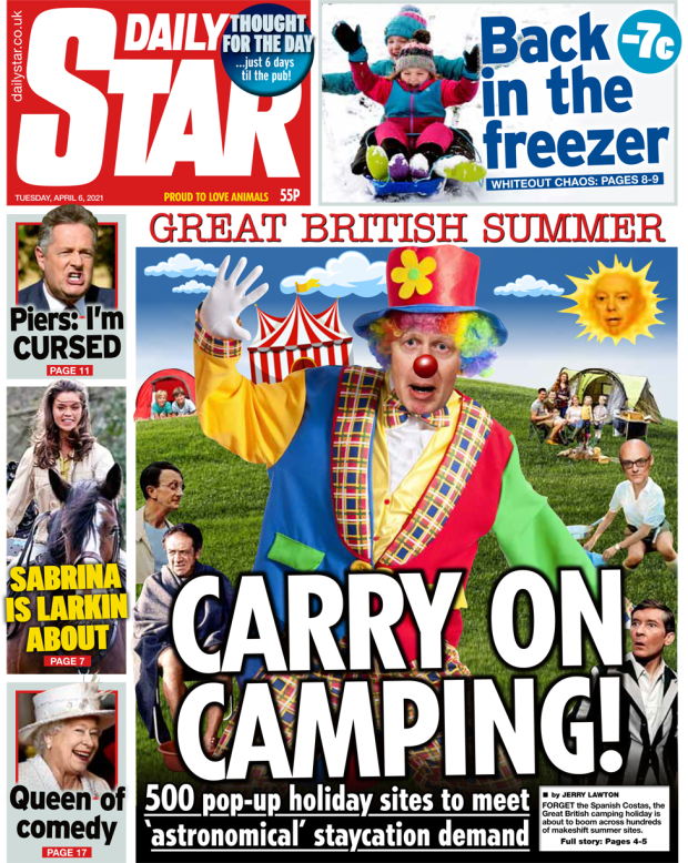 The Daily Star Tuesday 6 April