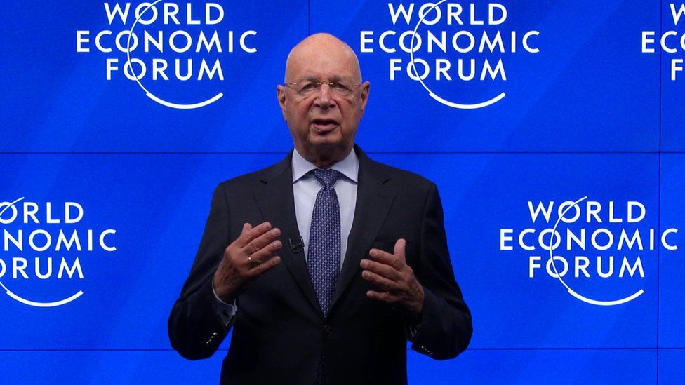 Klaus Schwab speaks as part of SWITCH GREEN during day 1 of the Greentech Festival at Kraftwerk Mitte aired on September 16, 2020 in Berlin, Germany