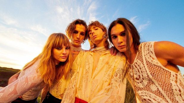 Picture of Maneskin, representing Italy