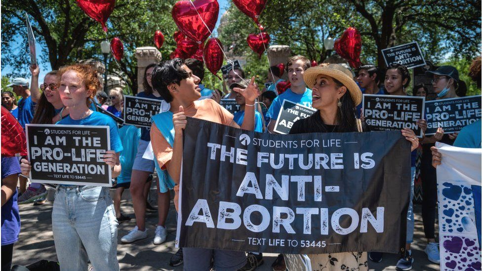 Pro-life demonstrations in Texas