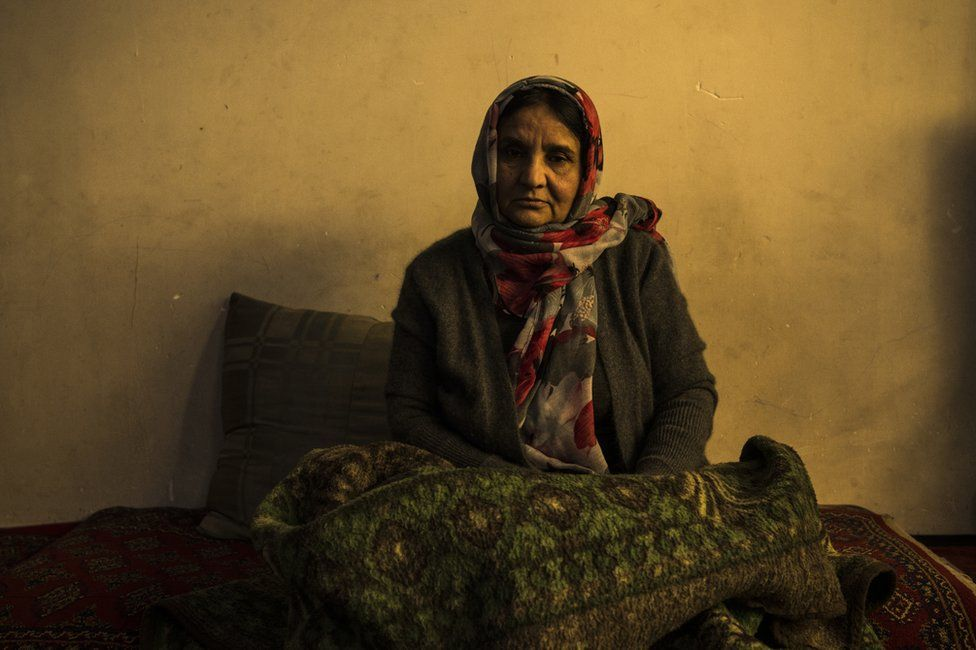 """Shukria Yasini at home in Kabul. """"My sister put her country first,"""" she said."""