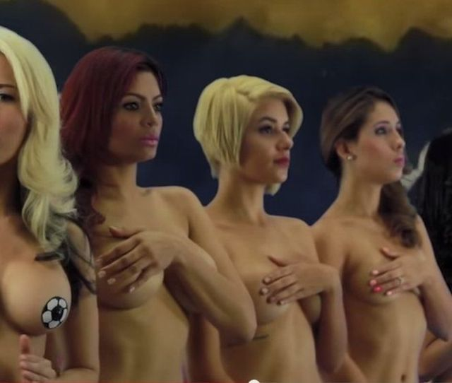 Eight Television Presenters From News Website Desnudando La Noticia Stripped Naked