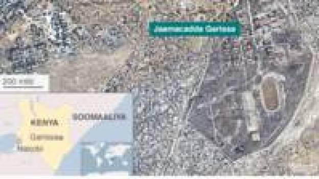 Garissa Map